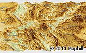 Physical Panoramic Map of Pang-Yang