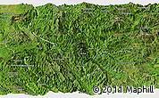 Satellite Panoramic Map of Pang-Yang