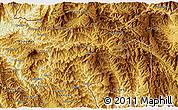 Physical 3D Map of Pangwaum