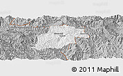 Gray Panoramic Map of Pangwaum