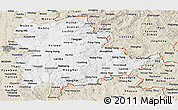 Classic Style Panoramic Map of Shan