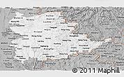 Gray Panoramic Map of Shan