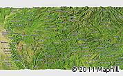 Satellite Panoramic Map of Shan