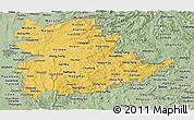 Savanna Style Panoramic Map of Shan
