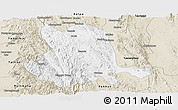 Classic Style Panoramic Map of Pinlaung