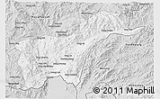 Silver Style 3D Map of Tachilek