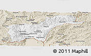 Classic Style Panoramic Map of Tachilek