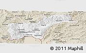 Classic Style Panoramic Map of Tachilek