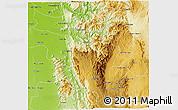 Physical 3D Map of Ye-Ngan
