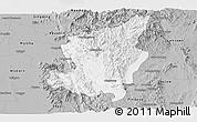 Gray Panoramic Map of Ye-Ngan