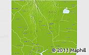 Physical 3D Map of Hlegu