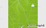 Physical Map of Hlegu