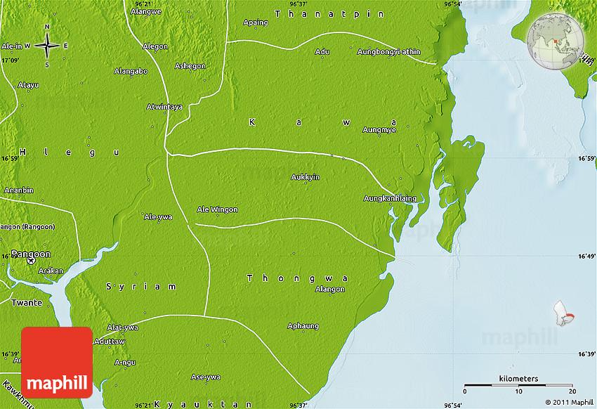 Physical Map of Kayan on vientiane map, burma map, taiohae map, hanoi map, hong kong map, bumthang map, phnom penh, ho chi minh city, manila map, rangoon map, mekong river map, siem reap, jakarta map, islamabad map, bandar seri begawan map, great wall of china map, bangkok map, kuala lumpur, murang'a map, aung san suu kyi, burmese language, kuala lumpur map, taipei map, yangtze river map, naypyidaw map, myanmar map,