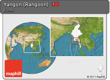 Free satellite location map of yangon rangoon highlighted country satellite location map of yangon rangoon highlighted country within the entire country publicscrutiny Image collections