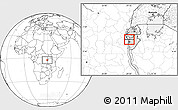 Blank Location Map of Bubanza
