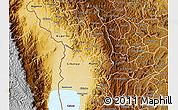 Physical Map of Bubanza