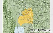 Savanna Style Map of Bubanza