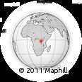 Outline Map of Bubanza