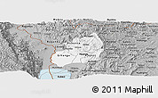 Gray Panoramic Map of Bubanza