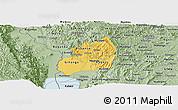 Savanna Style Panoramic Map of Bubanza