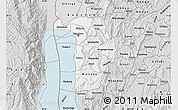 Silver Style Map of Bujumbura