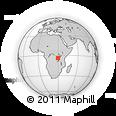Outline Map of Bururi