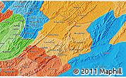 Political Shades 3D Map of Cankuzo