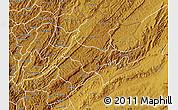 Physical Map of Cankuzo