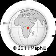 Outline Map of Cankuzo