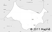 Silver Style Simple Map of Cankuzo