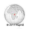 Outline Map of Cendajuru