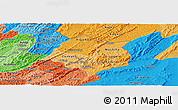 Political Shades Panoramic Map of Cankuzo
