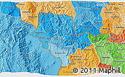 Political Shades 3D Map of Cibitoke