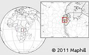 Blank Location Map of Bukinanvana