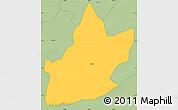 Savanna Style Simple Map of Nyabikere
