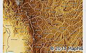 Physical Map of Kayanza