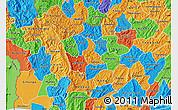 Political Map of Kayanza