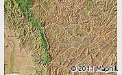 Satellite Map of Kayanza