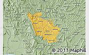 Savanna Style Map of Kayanza