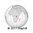 Outline Map of Kayanza
