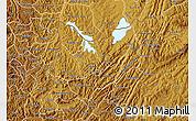 Physical Map of Kirundo