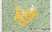 Savanna Style Map of Kirundo