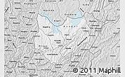 Silver Style Map of Kirundo