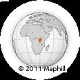 Outline Map of Kirundo