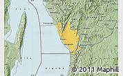 Savanna Style Map of Nyanza Lac