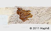 Physical Panoramic Map of Muramviya, lighten