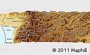 Physical Panoramic Map of Muramviya