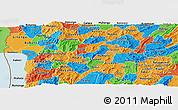 Political Panoramic Map of Muramviya
