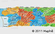 Political Shades Panoramic Map of Muramviya