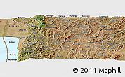 Satellite Panoramic Map of Muramviya